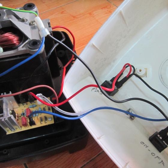 Board máy xay sinh tố công nghiệp