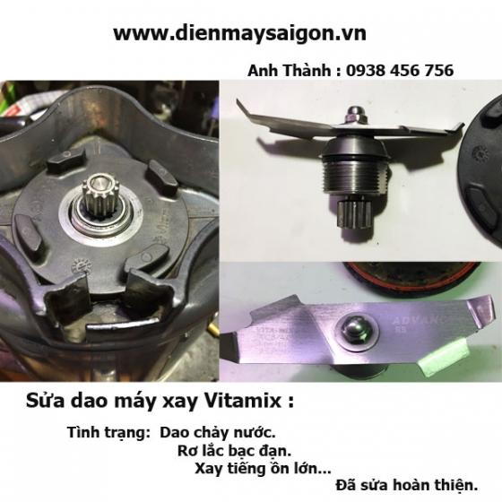 Sửa dao máy xay Vitamix